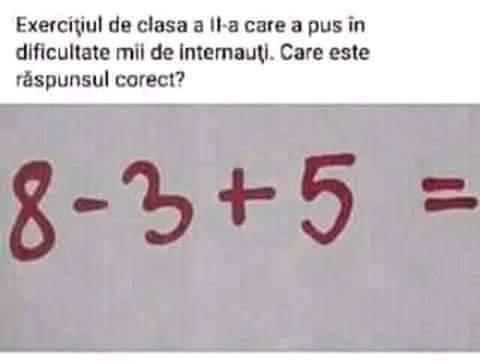 Bac clasa IX algebra