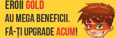 Eroii Gold Kidibot au mega beneficii. Fă-ți upgrade acum!