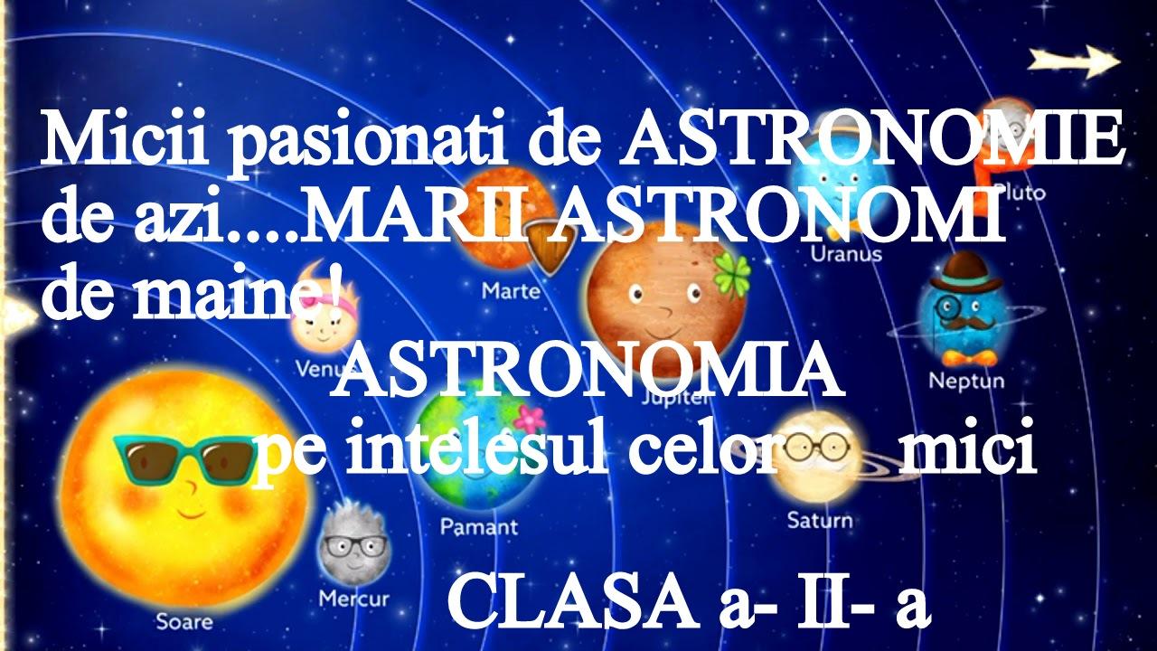 Sistemul solar pe înţelesul micilor astronomi de azi….marilor astronomi de mâine !