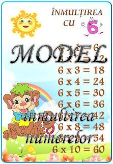 Cine ştie tabla înmulțirii cu 6 ?
