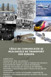 Tehnologii de comunicatii si transport