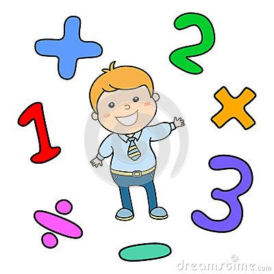Învață matematica ușor și distractiv-(2)-Test pentru clasa1