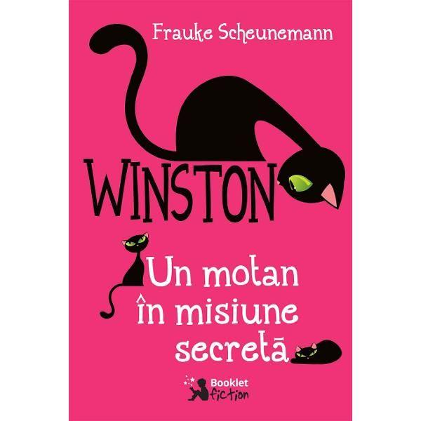 Winston, un motan în misiune secretă