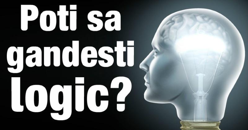 Întrebări diverse – Test de logică