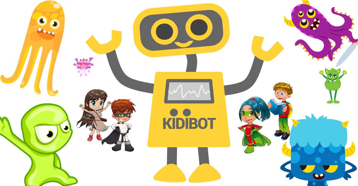 Kidibot (4) …din dragoste pentru prietenul nostru Kidibot !