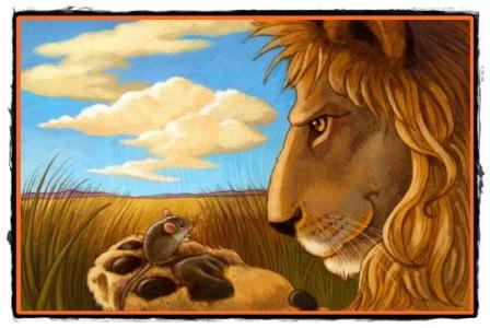 Leul și șoarecele
