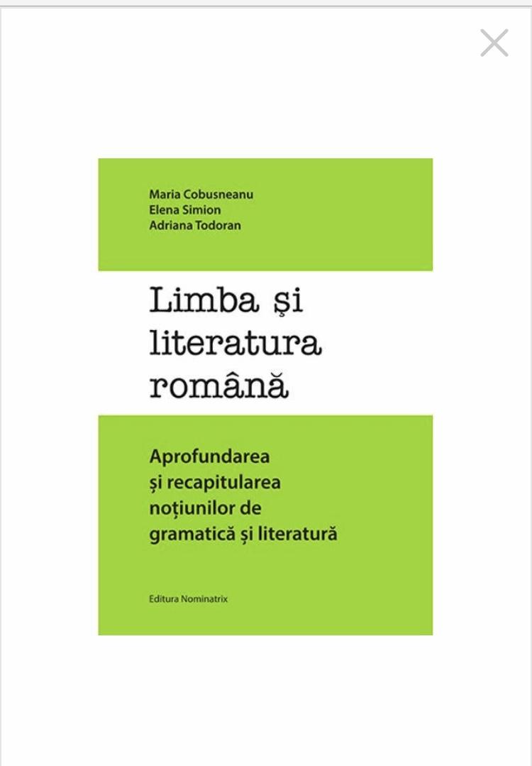 Literatura și Gramatica