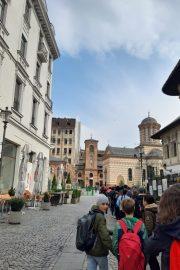 Tur pietonal interactiv în București – Zona Centrul Vechi