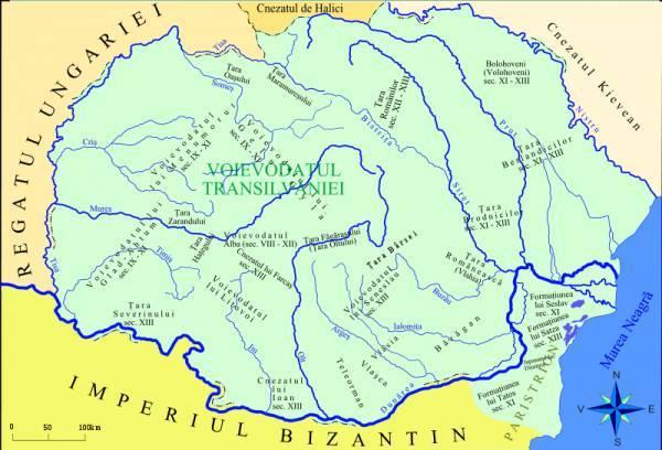 BAC. C1.Autonomii locale şi instituţii centrale în spaţiul românesc (secolele IX-XVIII) I