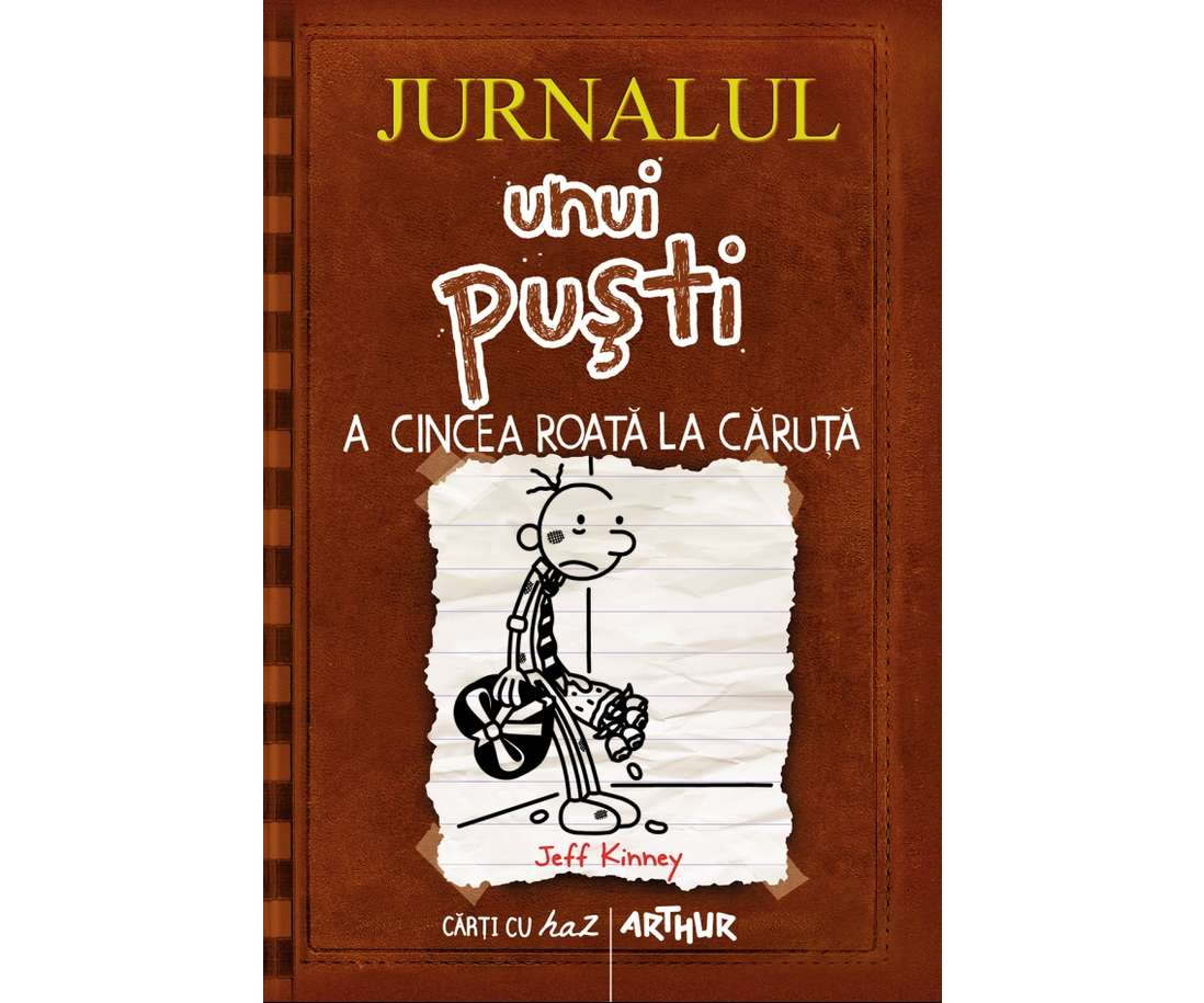 Jurnalul Unui Puști Vol. 7 A Cincea Roată La Căruță