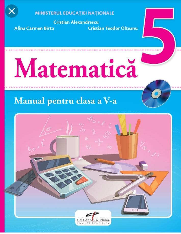 Matematica ușoară de cls V