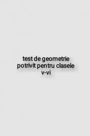 Test de geometrie