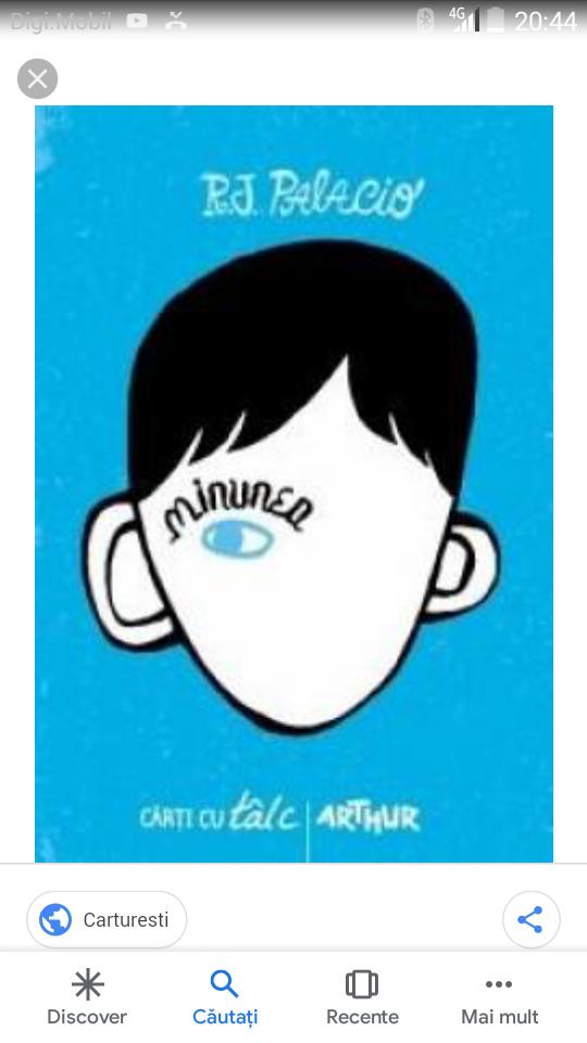 Minunea (o carte minunat de uimitoare)