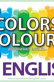 English – Colors