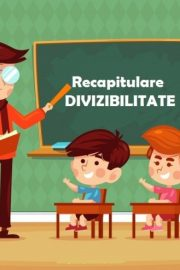 Testul 12 – Divizibilitate