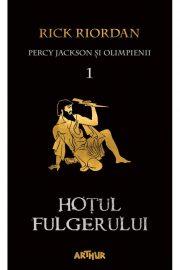 Percy Jackson și Olimpienii: Hoțul Fulgerului – de Rick Riordan