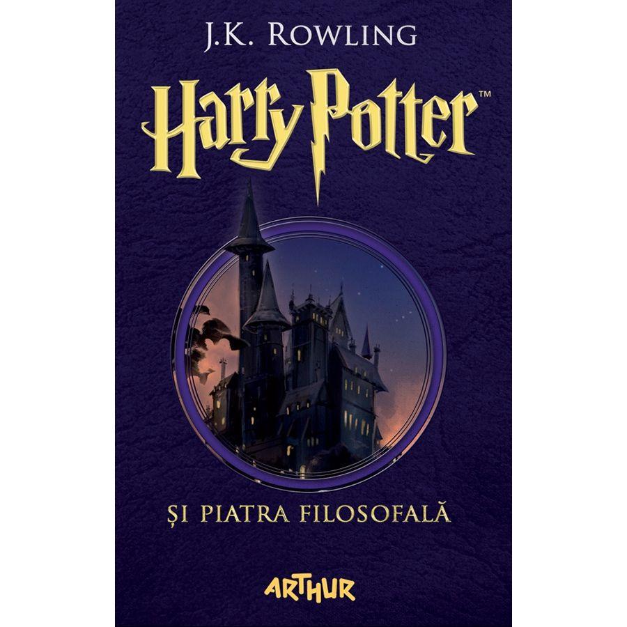 Harry Potter și Piatra Filosofală – volumul 1
