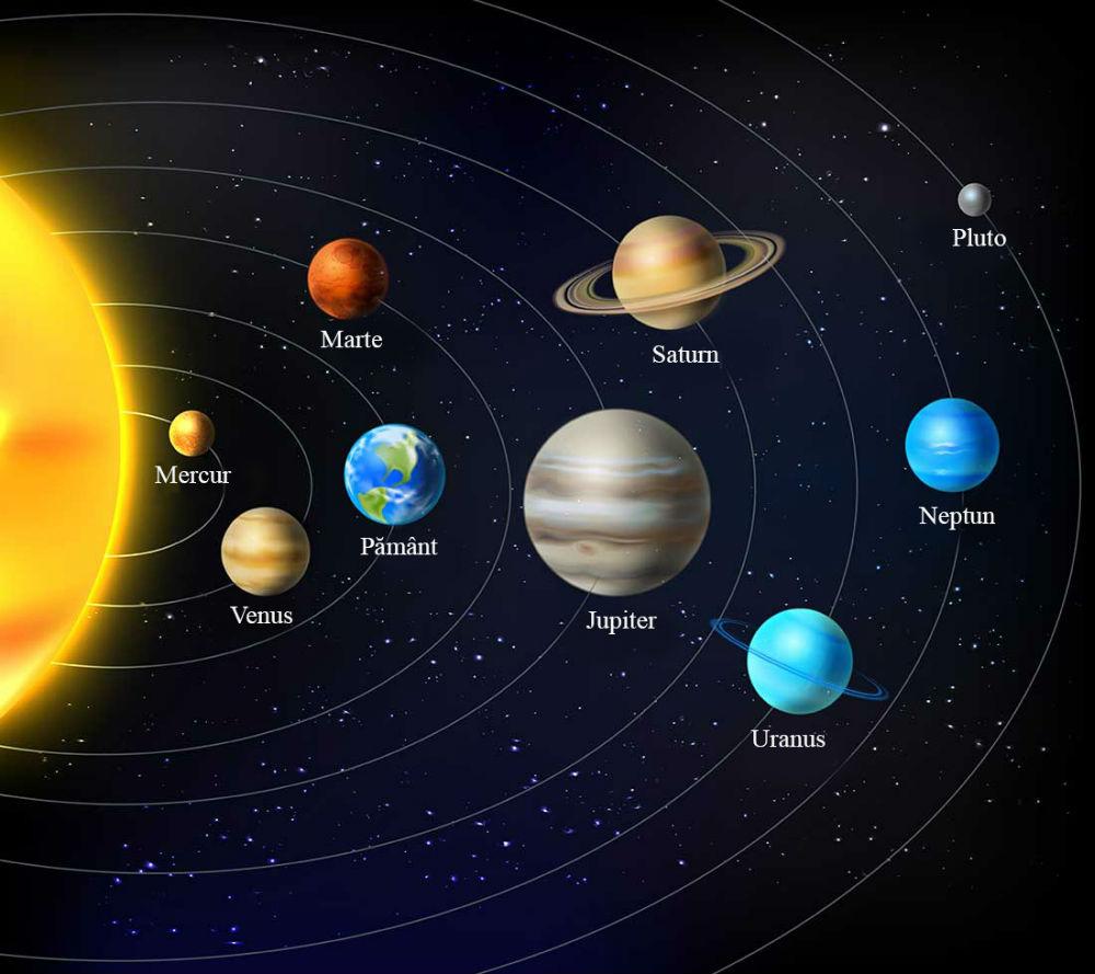 Astronomie ușoară – despre Sistemul Solar