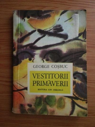 """Poezia """"Vestitorii primăverii"""""""