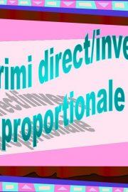 Lecția 10. MĂRIMI DIRECT PROPORȚIONALE – pregătirea Evaluării Naționale 2020