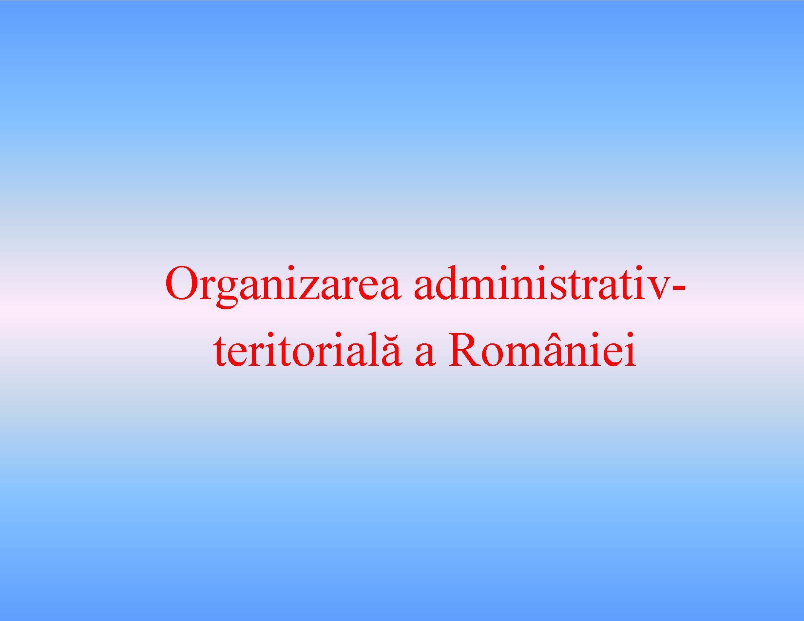 Orase si judete din Romania