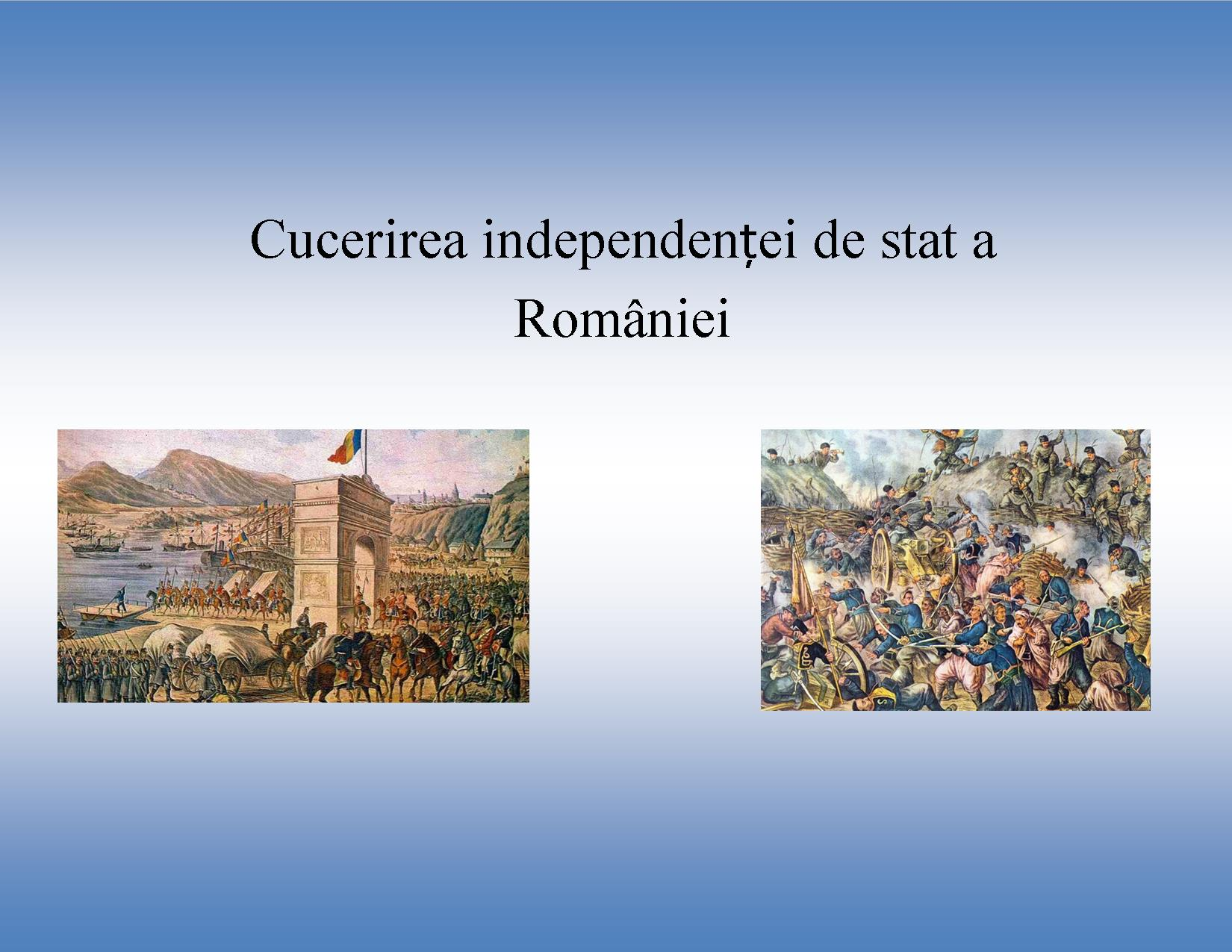 Razboiul de independenta