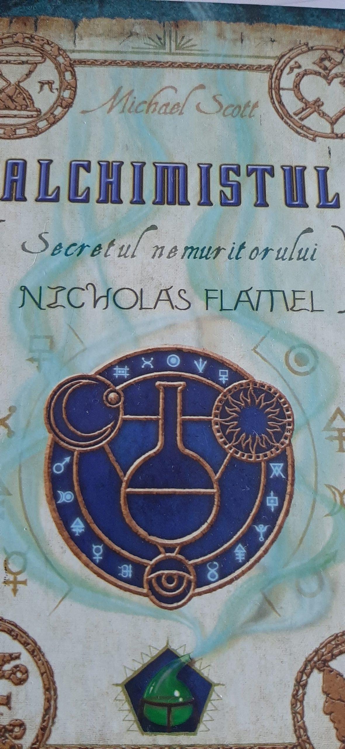 Alchimistul-Secretul nemuritorului Nicolas Flamel (Michael Scott)