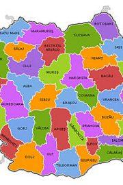 Organizarea administrativă a României. București – capitala țării mele