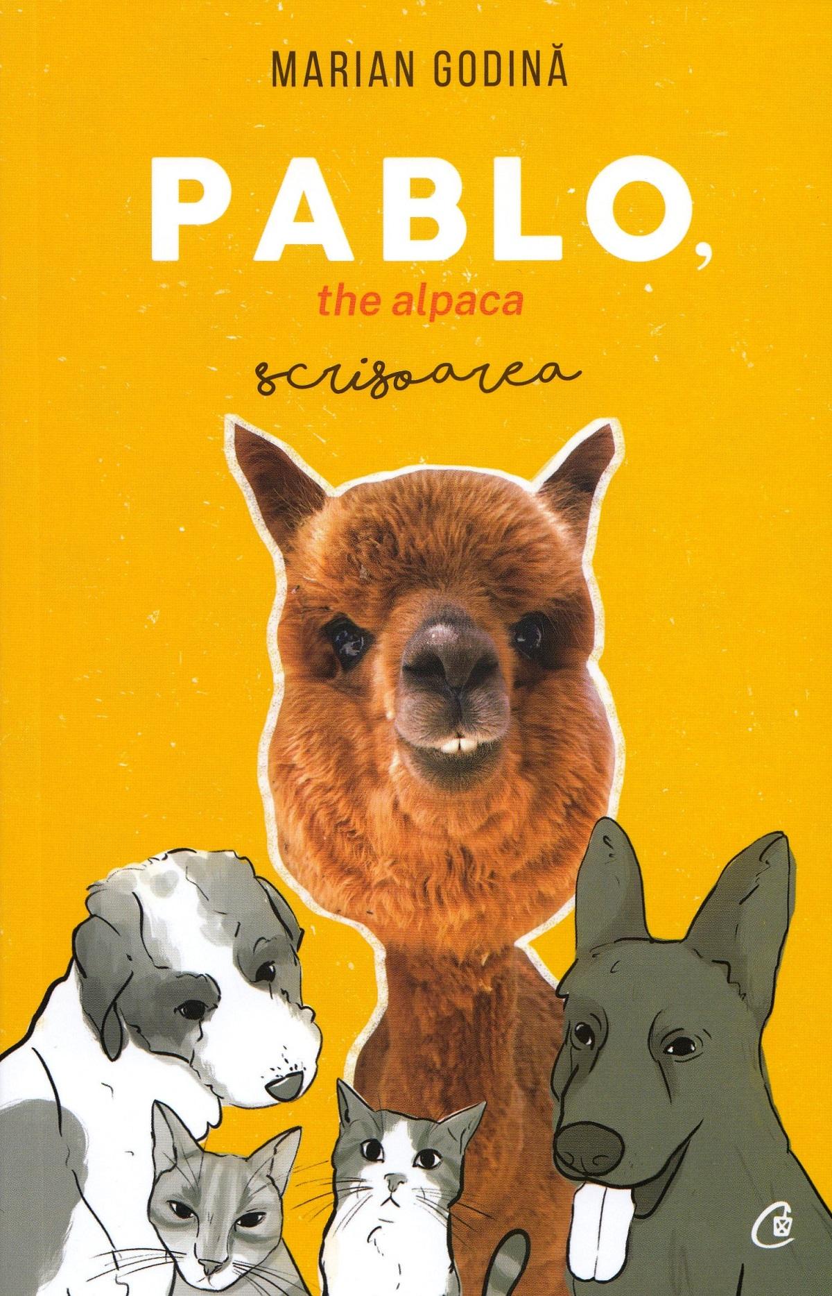 PABLO, the alpaca scrisoarea