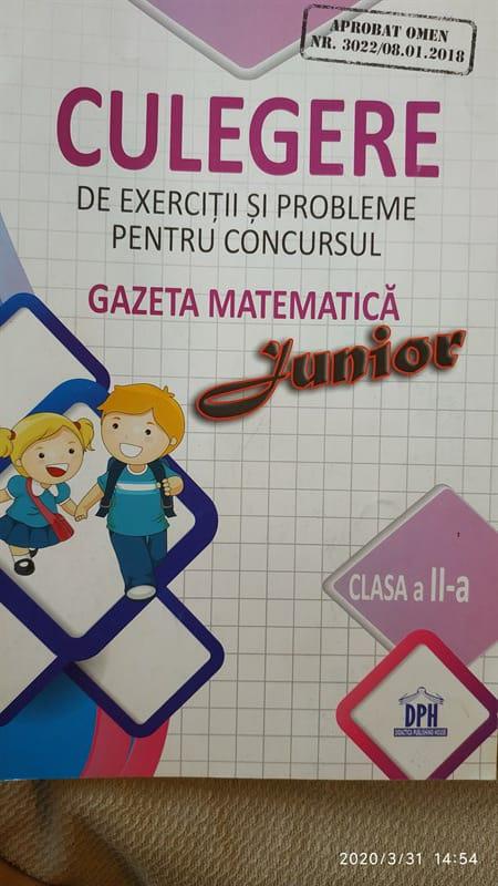 Gazeta matematicii clasa a 2 a