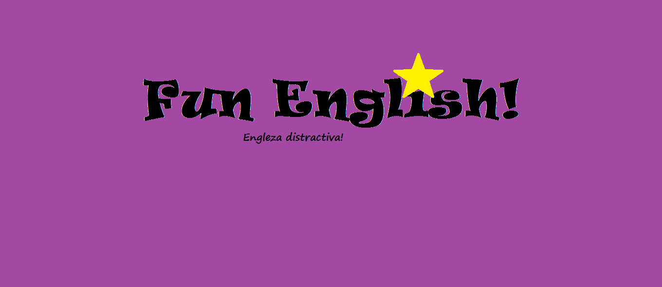 Engleza Distractiva – Fun English