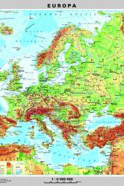 Relieful și țărmurile Europei