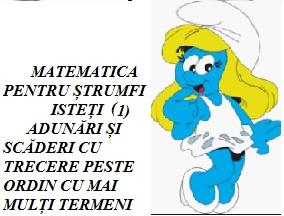 MATEMATICĂ PENTRU ȘTRUMFI ISTEȚI 1
