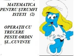 MATEMATICĂ PENTRU ȘTRUMFI ISTEȚI (2)