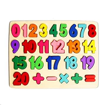Numere naturale de la 0 la 20
