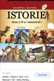 Istorie clasa a patra