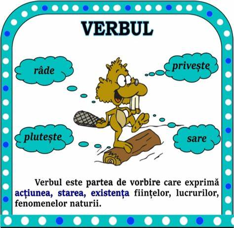 VERBUL-clasa a III a
