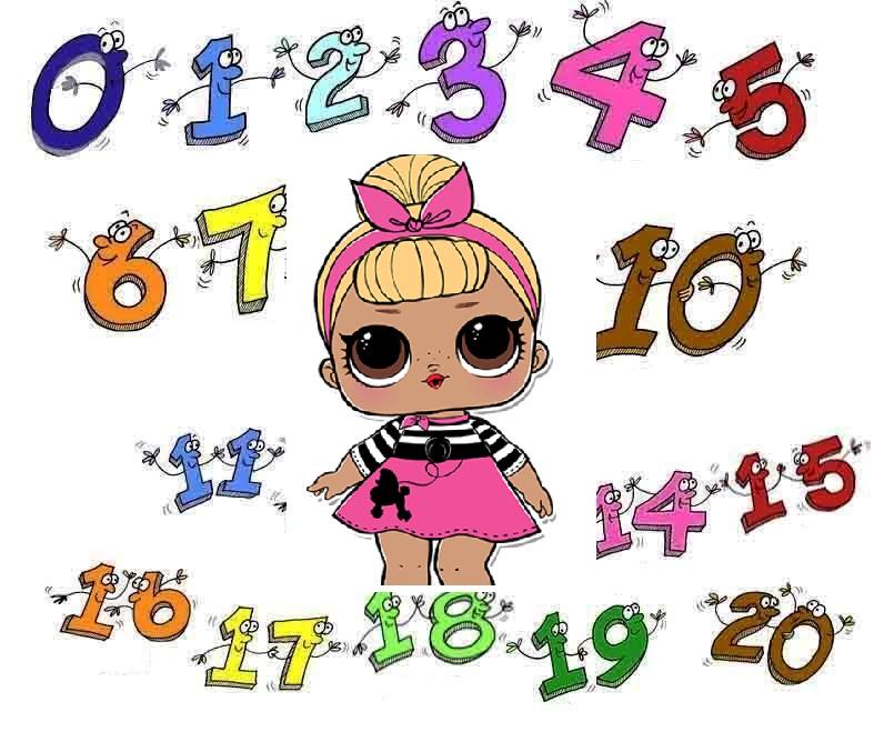 Numerele de la 0 la 20