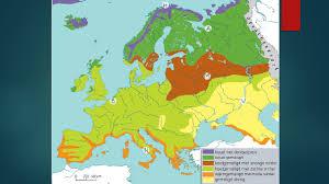 Europa, elemente hidrografice si biopedoclimatice