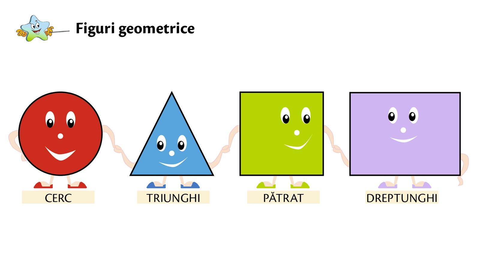 Poligoane – patrat, dreptunghi, triunghi
