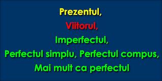 Modurile și timpurile verbului