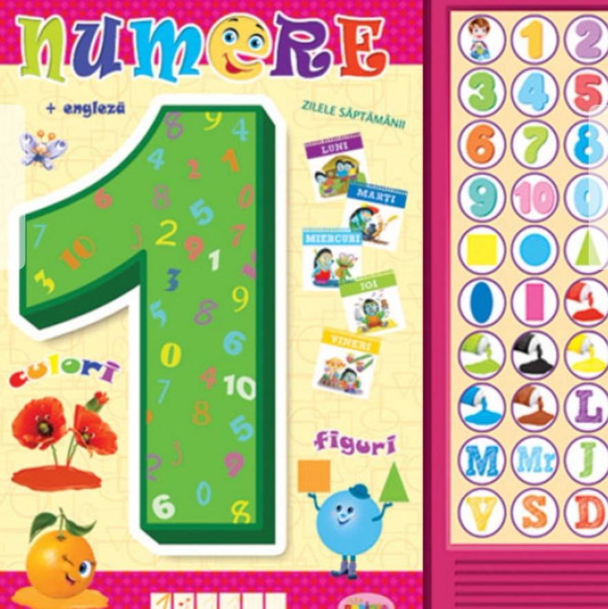 Numerele de la 1 la 20 în Engleza