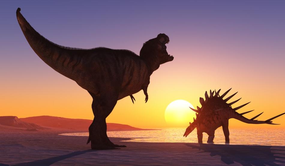 Micii elevi și dinozaurii
