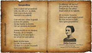Gospodina – de Otilia Cazimir