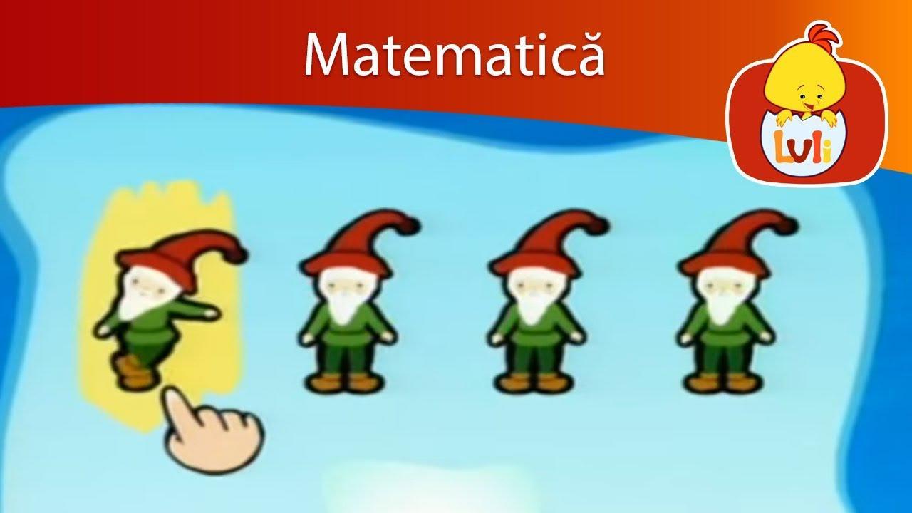 Scăderi cu numere între 0 și 20