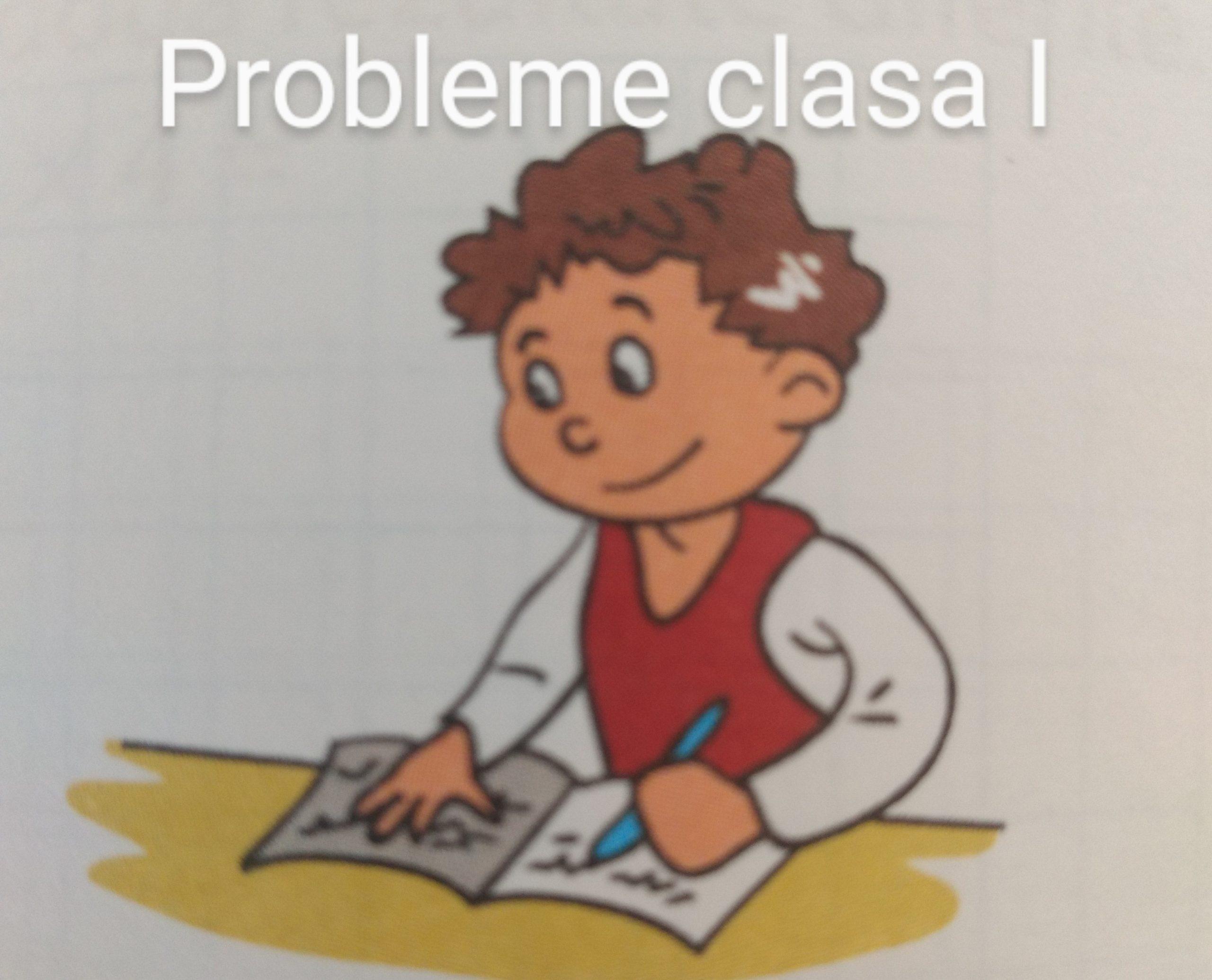 Probleme clasa I