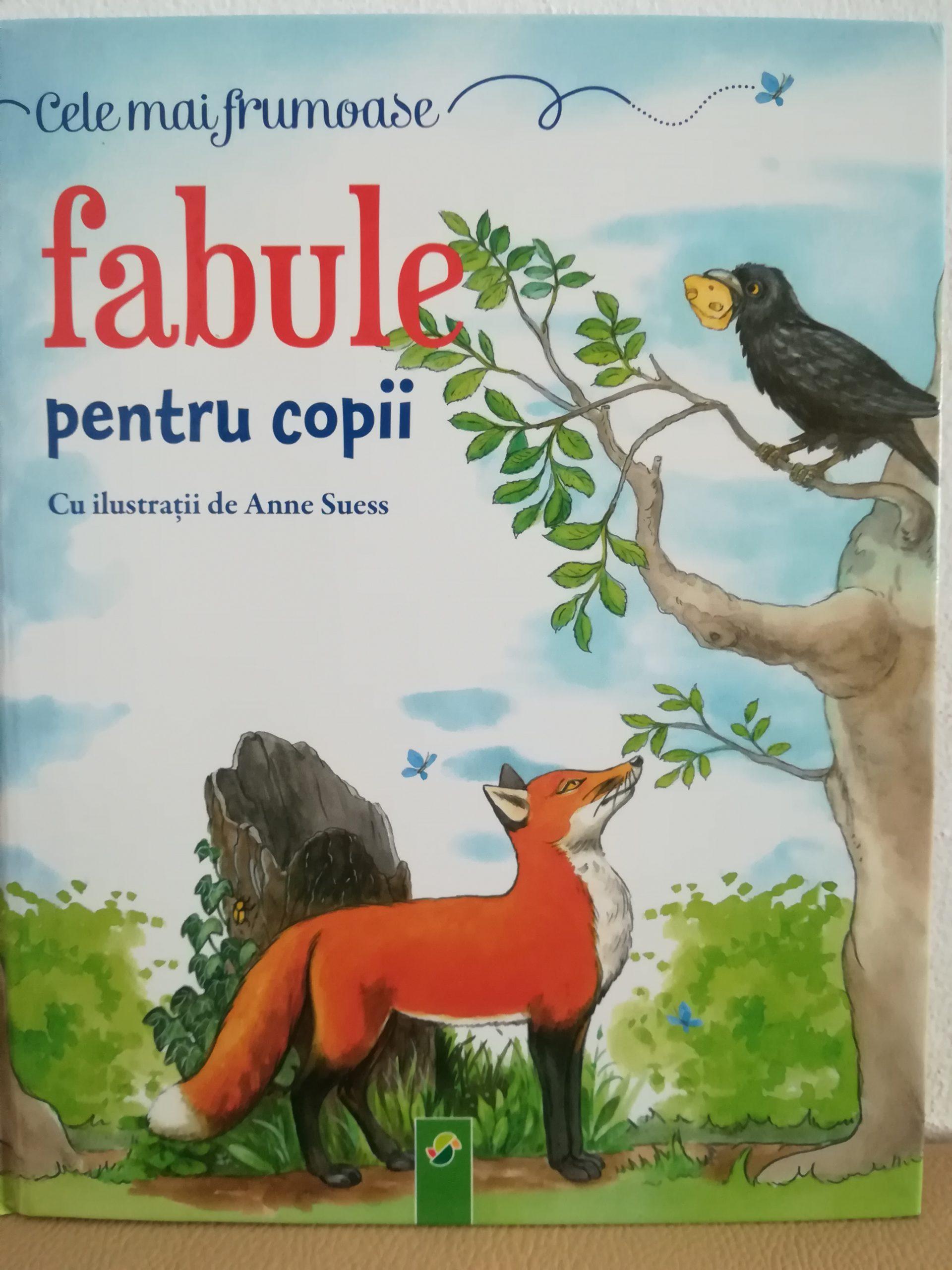 Corbul și vulpea – fabula