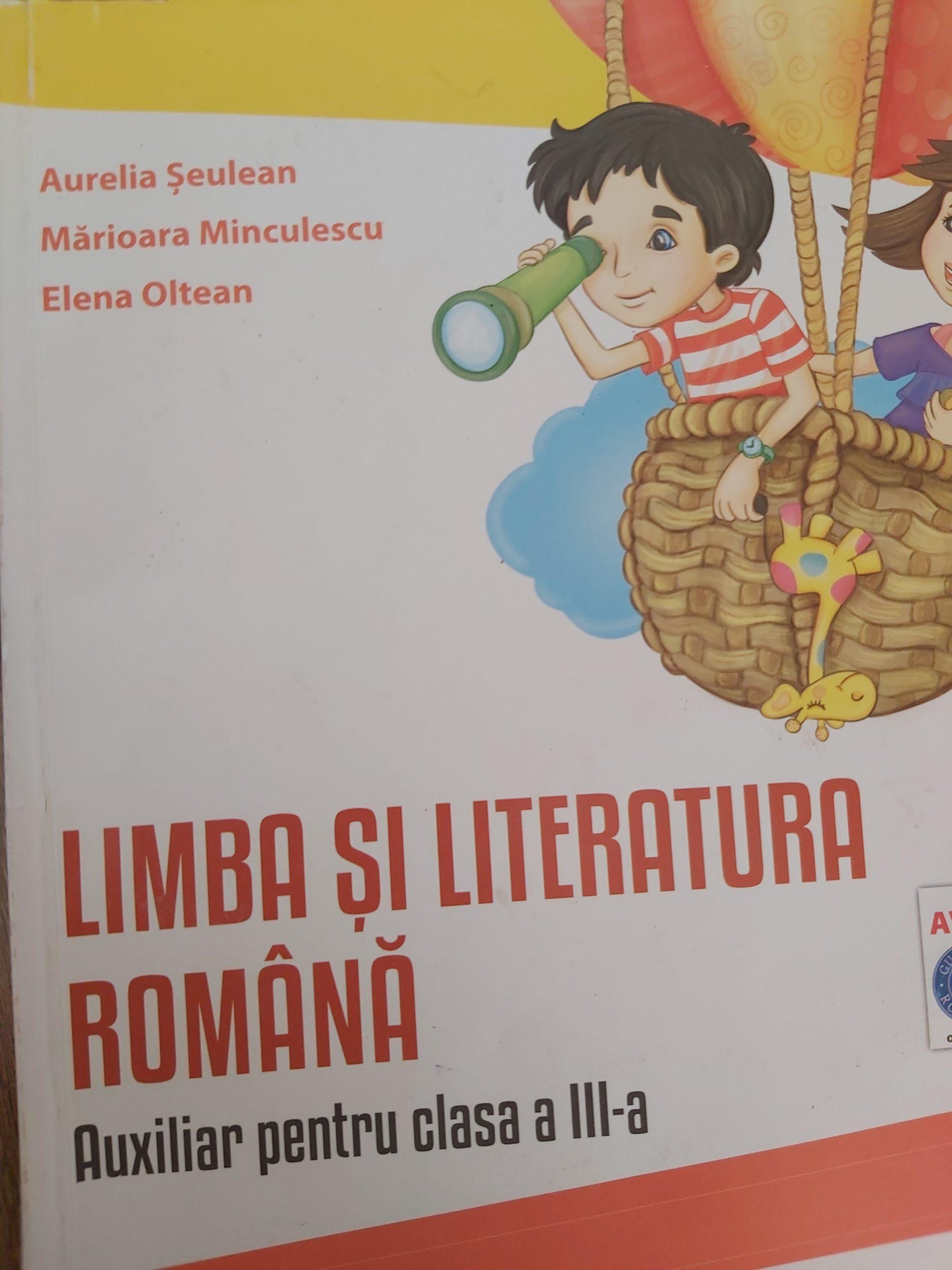 Limba si literatura română