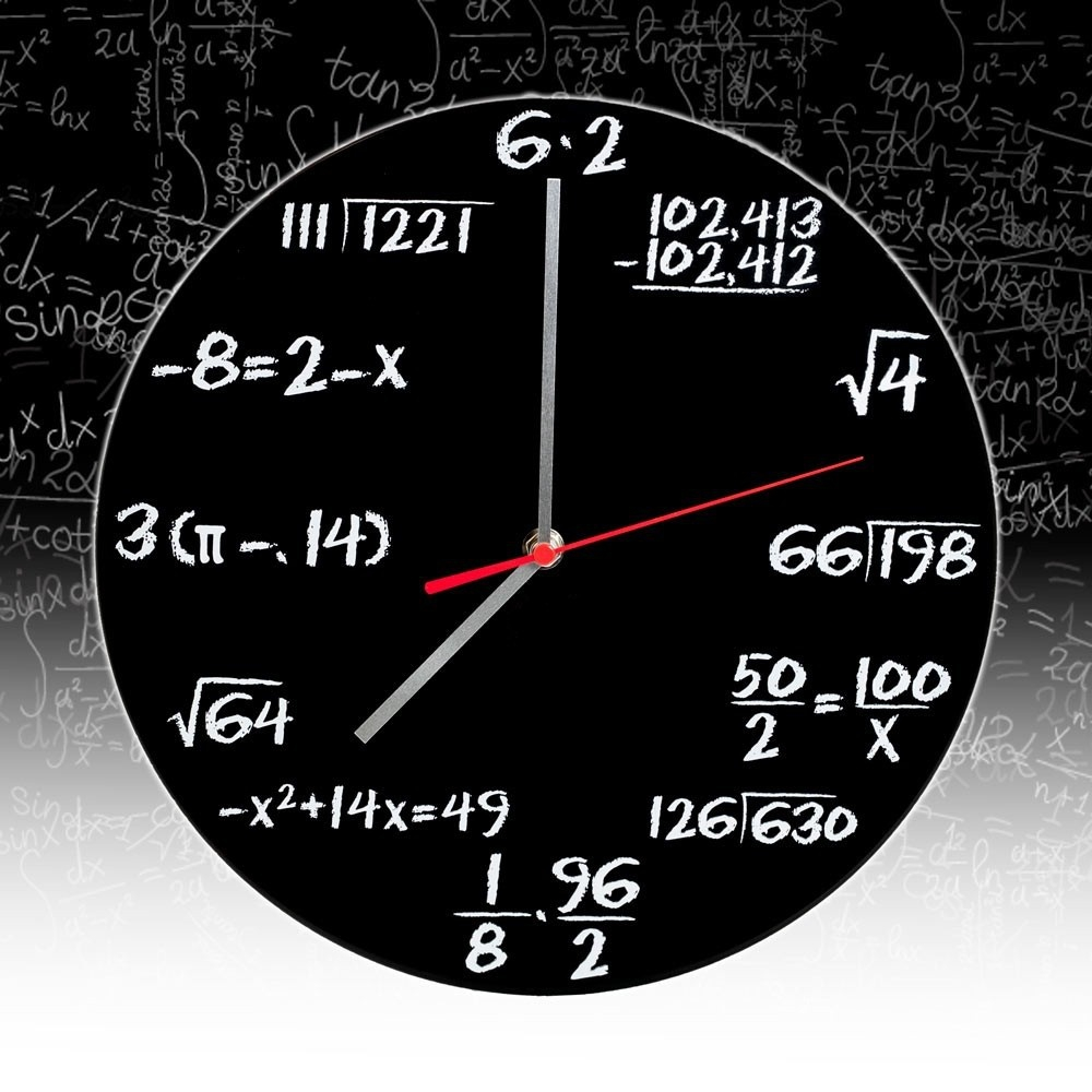 Matematica:ceasul