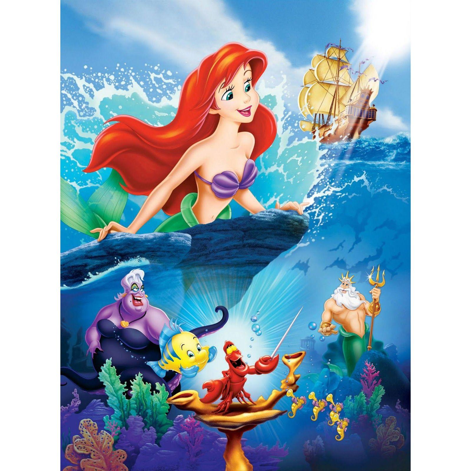 Mica sirenă Disney